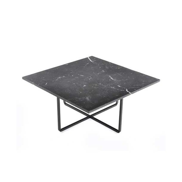 OX Denmarq - Ninety Table 60x60 - Sort marmorbord