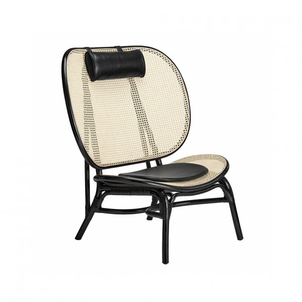 NORR11 - Nomad Chair - Armchair black