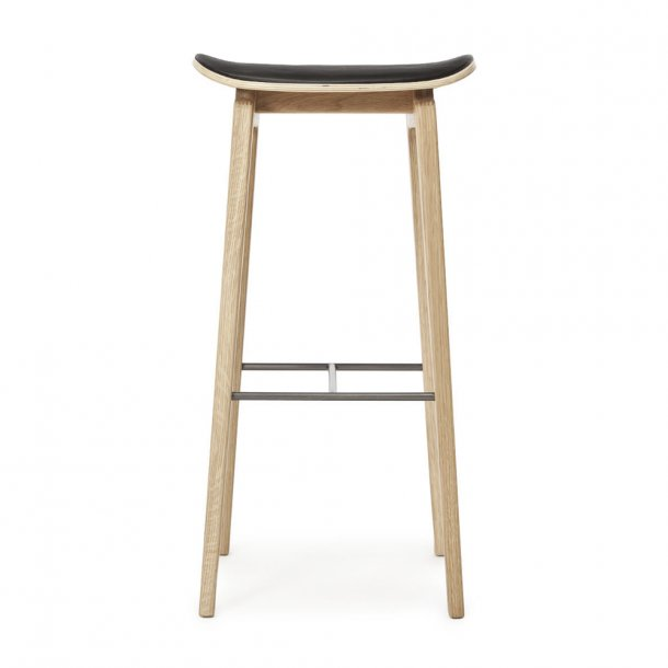 NORR11 - NY11 Bar Chair Leather - Sædepolstret
