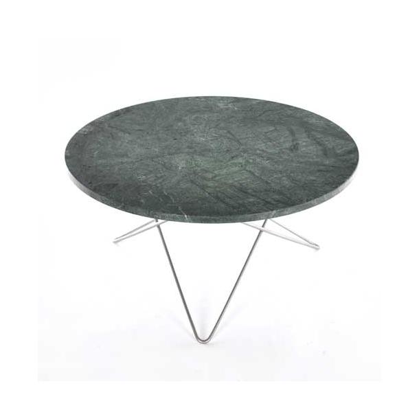 OX Denmarq - O Table - Green marble