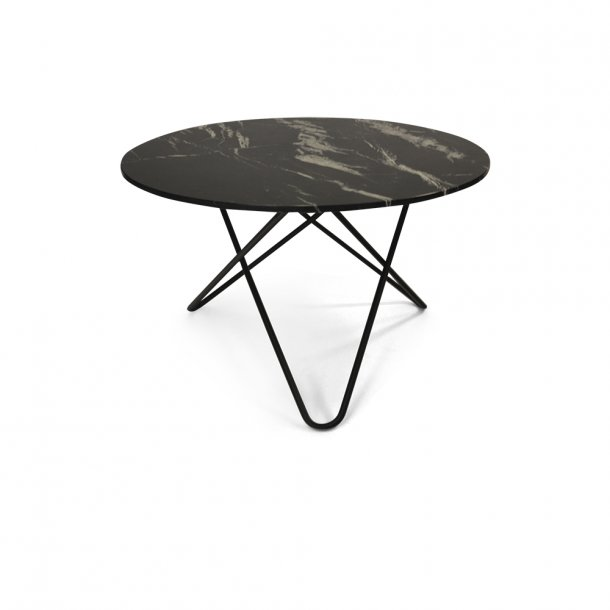 OX Denmarq - Big O Table - Black marble - dining table