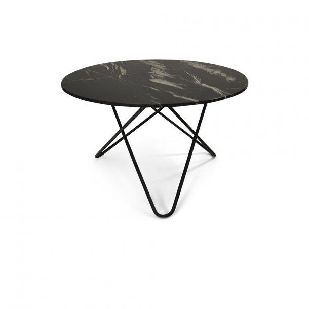 OX Denmarq - Big O Table - Sort marmor - spisebord