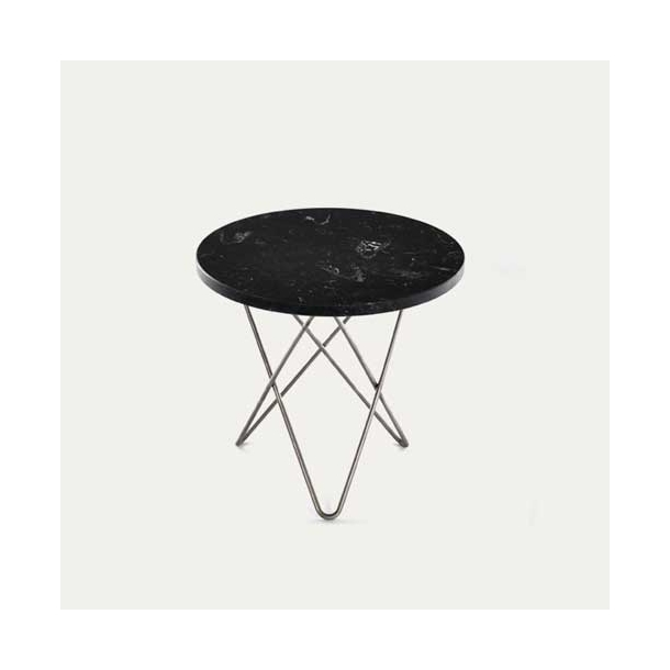OX Denmarq - Mini O Table - Black marble
