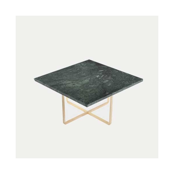 OX Denmarq - Ninety Table 80x80 - Green marble
