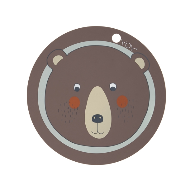 OYOY - Placemat Bear | Brown