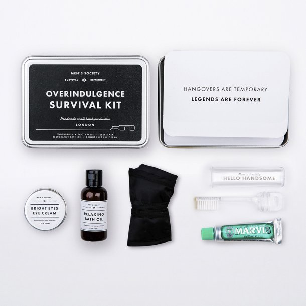 Men's Society - Overindulgence Survival Kit