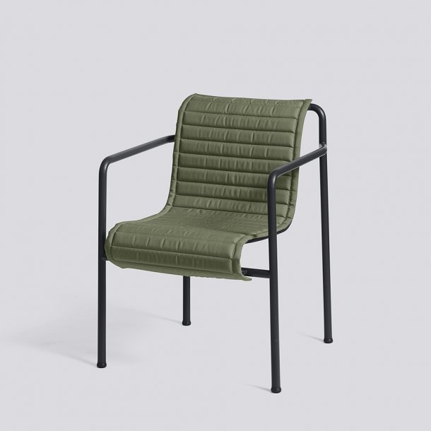 HAY - Palissade Dining Arm Chair Quilted Cushion | Hynde