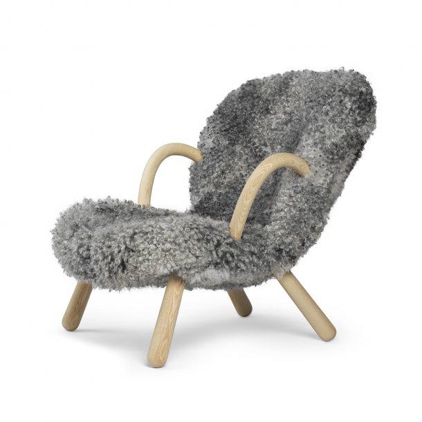 Paustian - Arctander Chair loungestol m. armlæn - Gotland Sheepskin