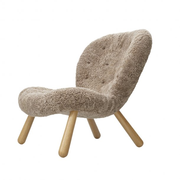 Paustian - Arctander Chair loungestol - Sheepskin