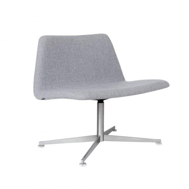 Paustian - Spinal Chair 80, Swivel base chrome   Tekstil