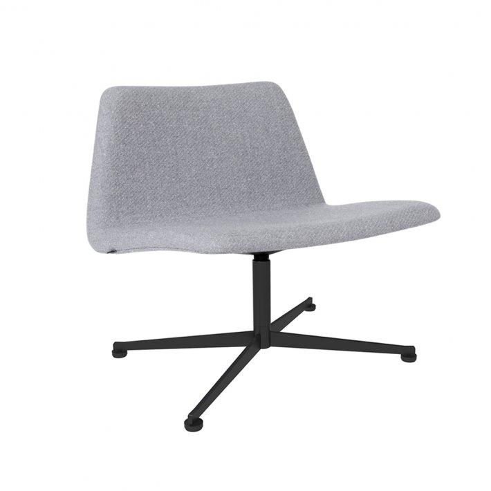 Paustian - Spinal Chair 80, Swivel base black  | Tekstil