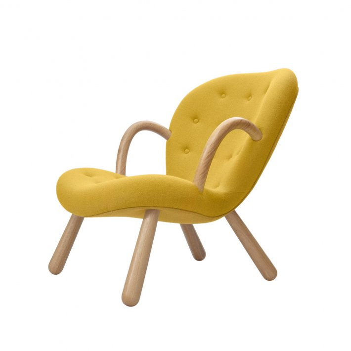 Paustian - Arctander Chair loungestol m. armlæn | Tekstil