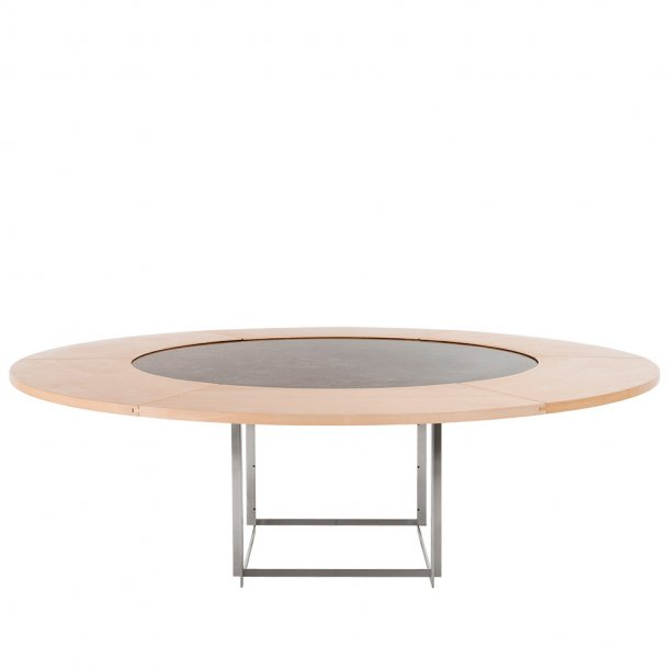 Fritz Hansen -  Ahorn tillægsring PK54A™ - (Uden marmorbord) - Ø 210 cm
