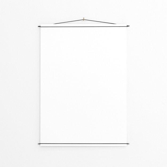Poster Hanger - Sort