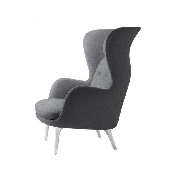 Fritz Hansen - RO™ loungestol - Børstet aluminium