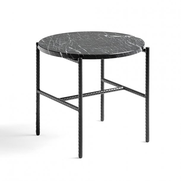 HAY - Rebar Tray Table - Round - Marmor
