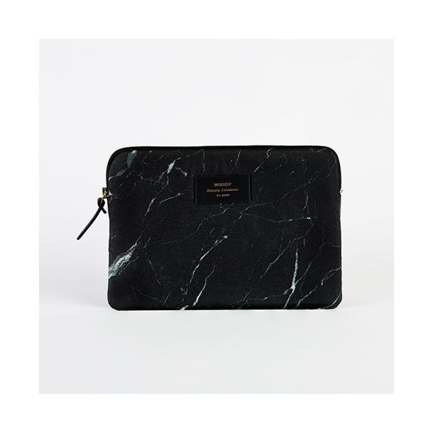 Wouf - Black Marble - Ipad Sleeve