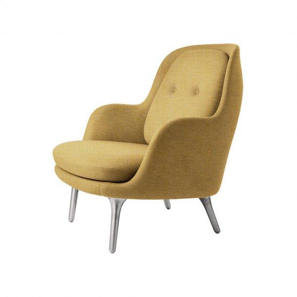 Fritz Hansen - FRI™ loungestol - Børstet aluminium