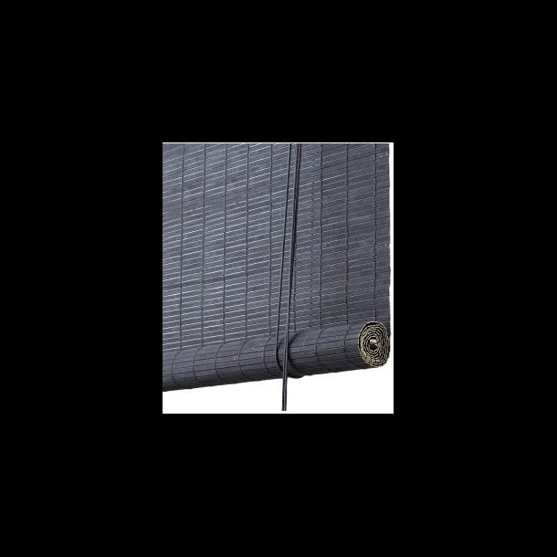 Color & Co - Rullegardin | Mørkegrå malet bambus