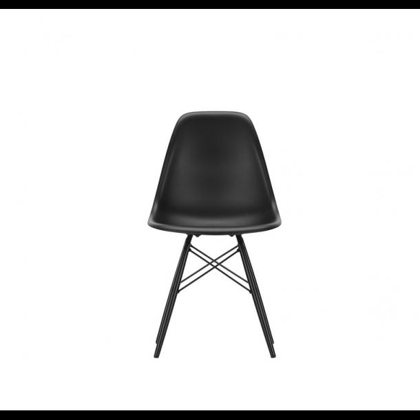 Vitra - Eames Plastic Side Chair DSW - Sortlakeret - stol
