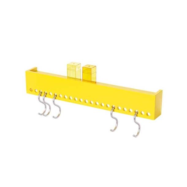 NOMESS - So Hooked Wall Rack - Yellow