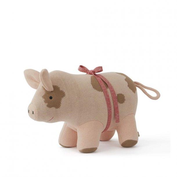 OYOY - Weihnachtsschwein Sofie - Teddybär