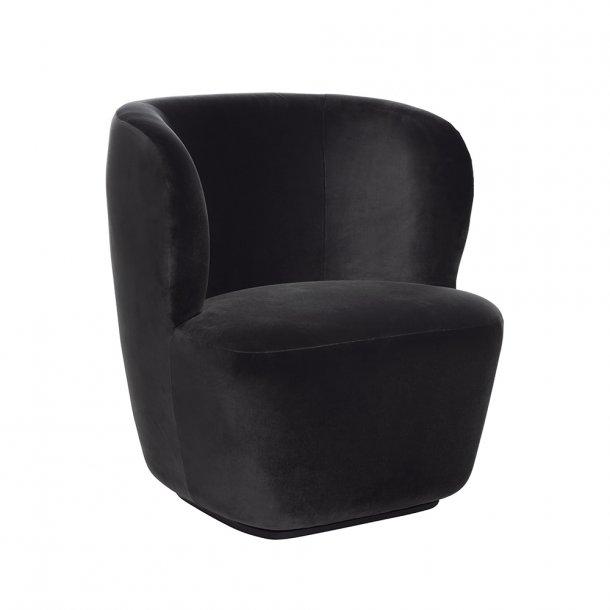 Gubi - Stay Lounge Chair | Lænestol | Sort base
