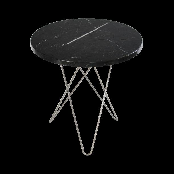 OX Denmarq - Mini O Table Tall | Black marble