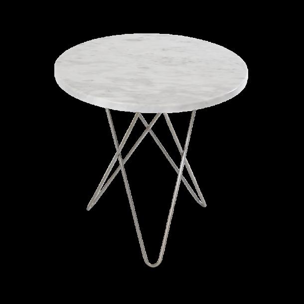OX Denmarq - Mini O Table Tall | White marble