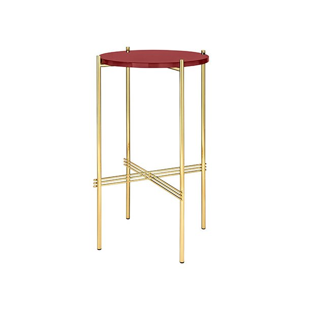 Gubi - TS Console Round - Messing/Glas