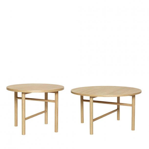Hübsch - Table, oak, nature 2 psc.