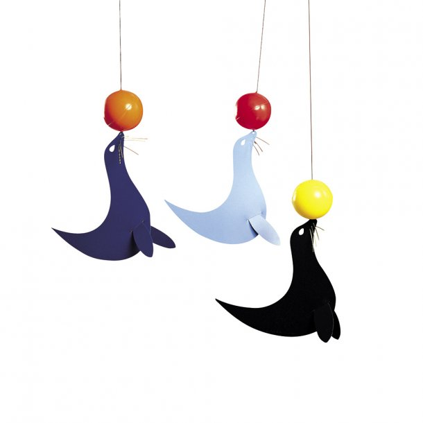 Flensted - 3 glade sjøløver