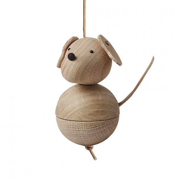 OYOY - Leika Dog Nature | Wooden figure