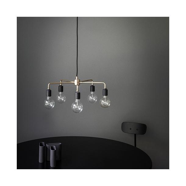OUTLET - Tribeca - Leonard lysekrone børstet stål