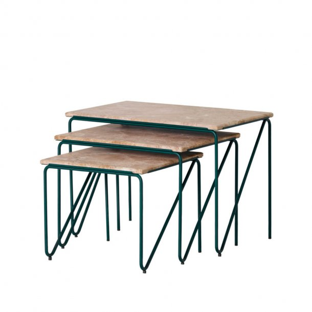 Please wait to be seated - Triptych Nesting Tables