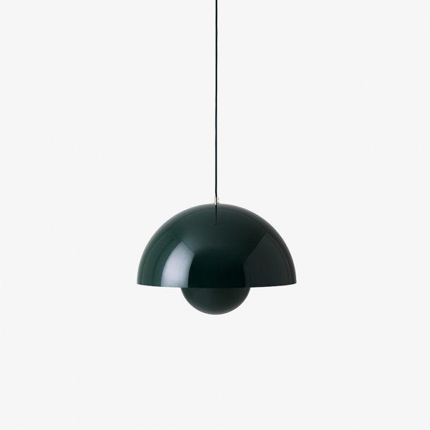 &Tradition - Verner Panton - Flowerpot VP2 - Mørkegrøn