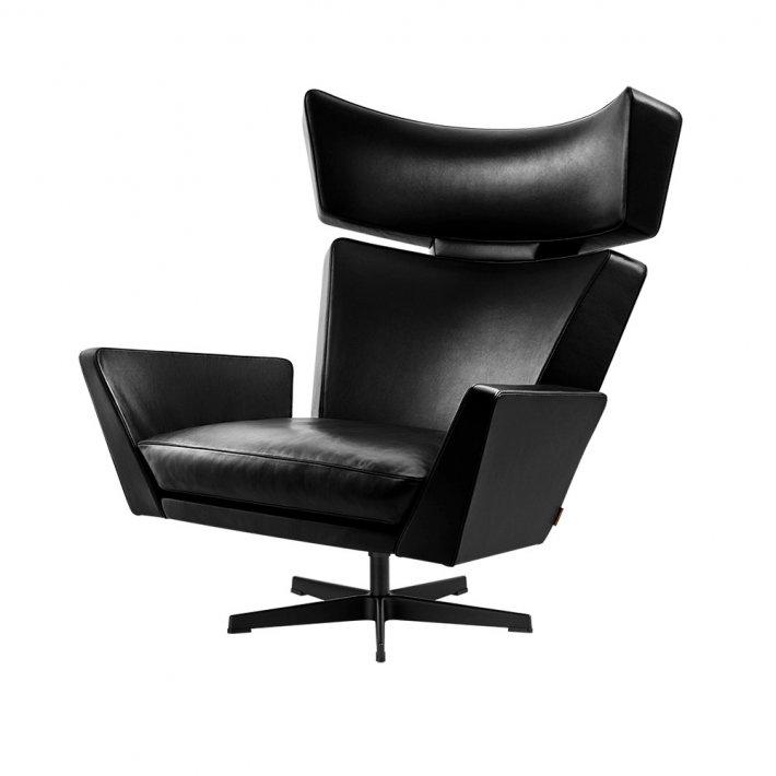 OKSEN™ loungestol - Pulverlakeret aluminium