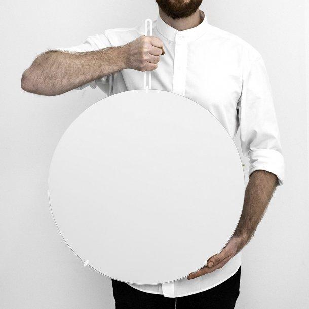 Moebe - Wall Mirror - White
