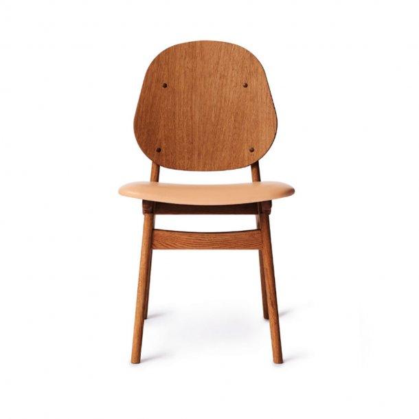 WARM NORDIC - Noble Chair | Teakolieret eg, sædepolstret