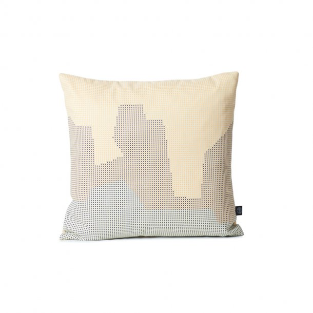 WARM NORDIC - Sprinkle Map Pude | Dune 45x45