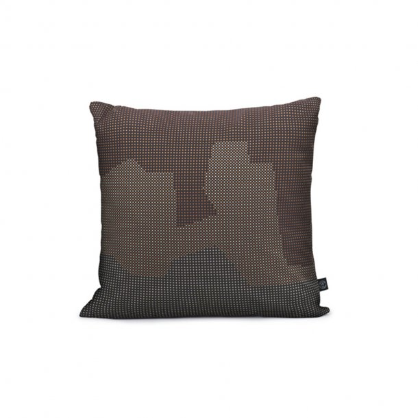 WARM NORDIC - Sprinkle Map Pude | Mountain 45x45