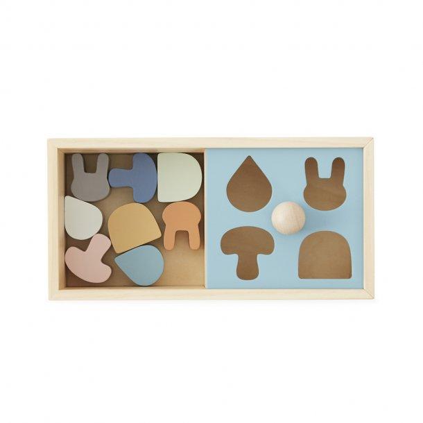 OYOY - Wooden Puzzle Box - Træklodser