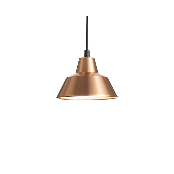 Made by Hand - W1 - Workshop lamp - Copper/White