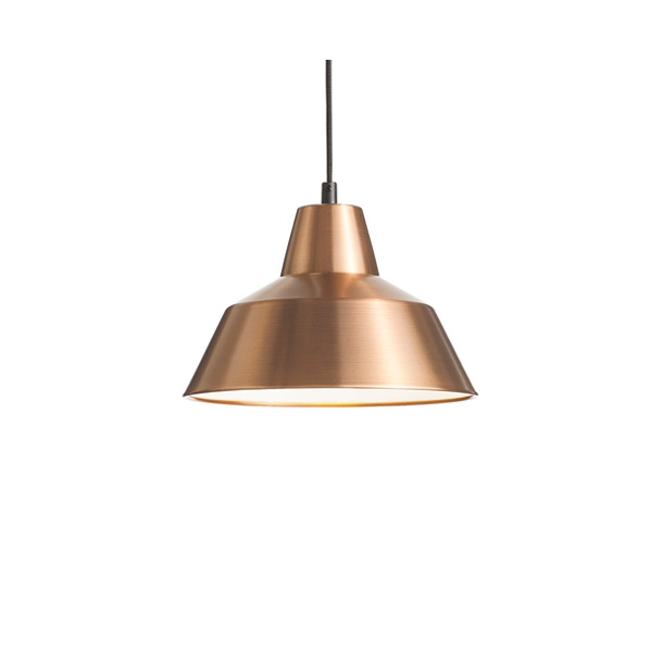 Made by Hand - W2 - Workshop lamp - Copper / White