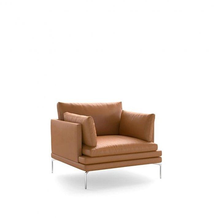 WILLIAM 1330 | Lænestol | Læder