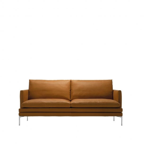 Zanotta - WILLIAM Sofa 1330 | 2 pers. | Læder