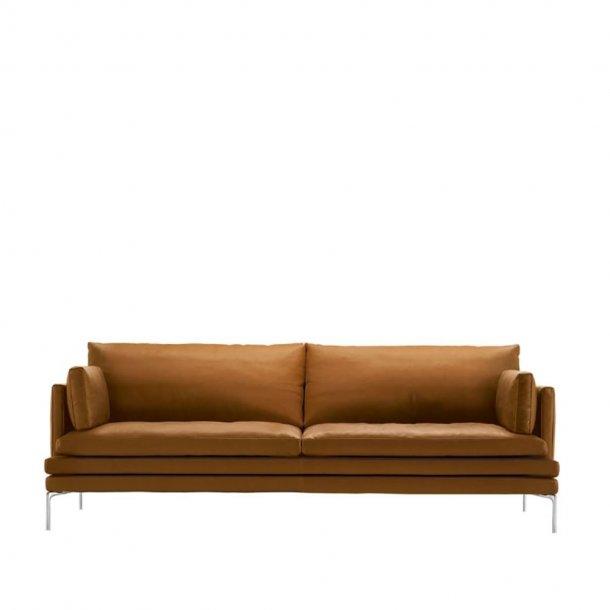 Zanotta - WILLIAM Sofa 1330   2½ pers.   Læder