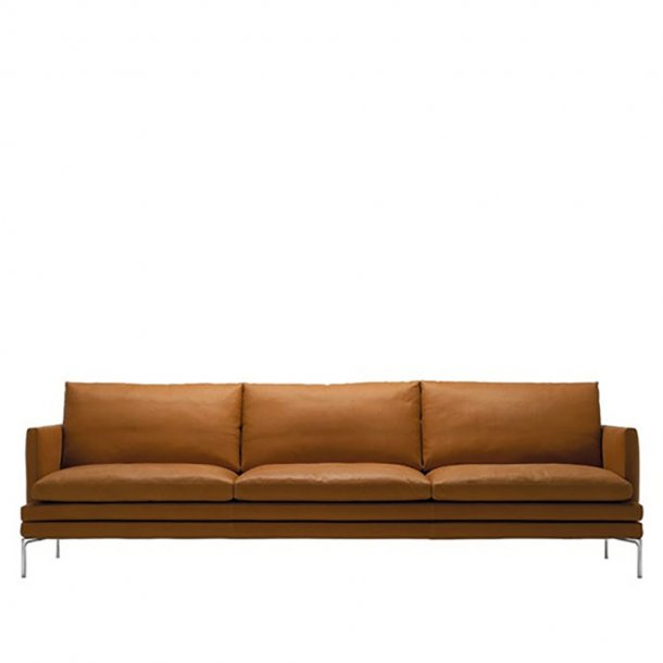Zanotta - WILLIAM Sofa 1330 | 3 pers. | Læder