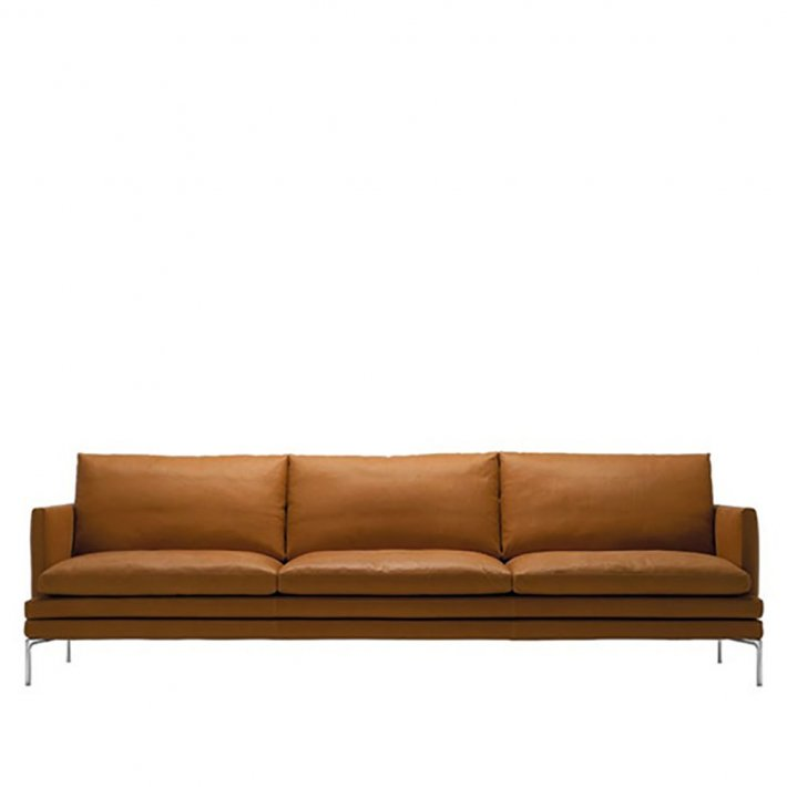 WILLIAM Sofa 1330 | 3½ pers. | Læder