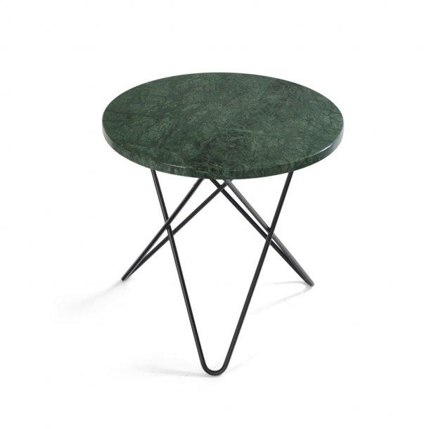 OX Denmarq - Mini O Table   Green marble